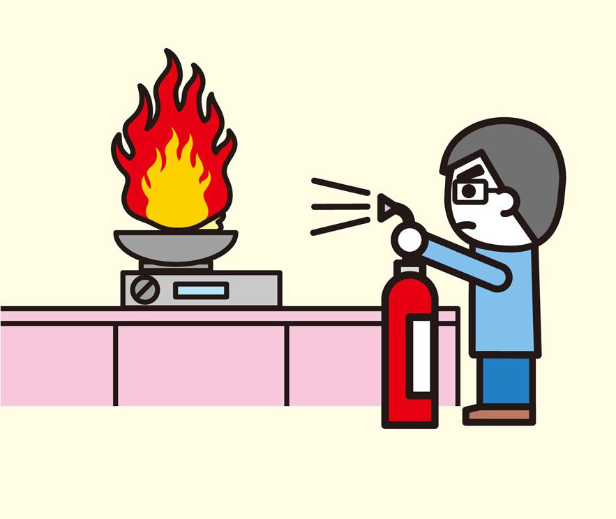 飲食店の消火器設置基準の改正